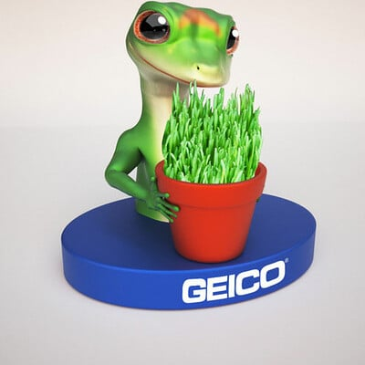Spuke 3d geico flower pot