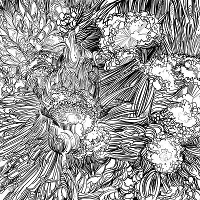 Armand serrano toppitexture leafy