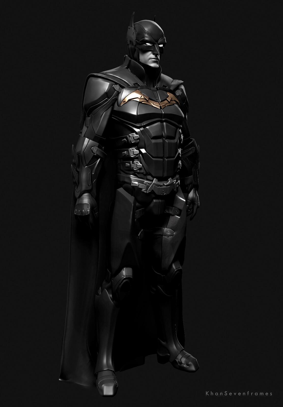 Seven Frames - Robert Pattinson's New Bat Suit Fan Art