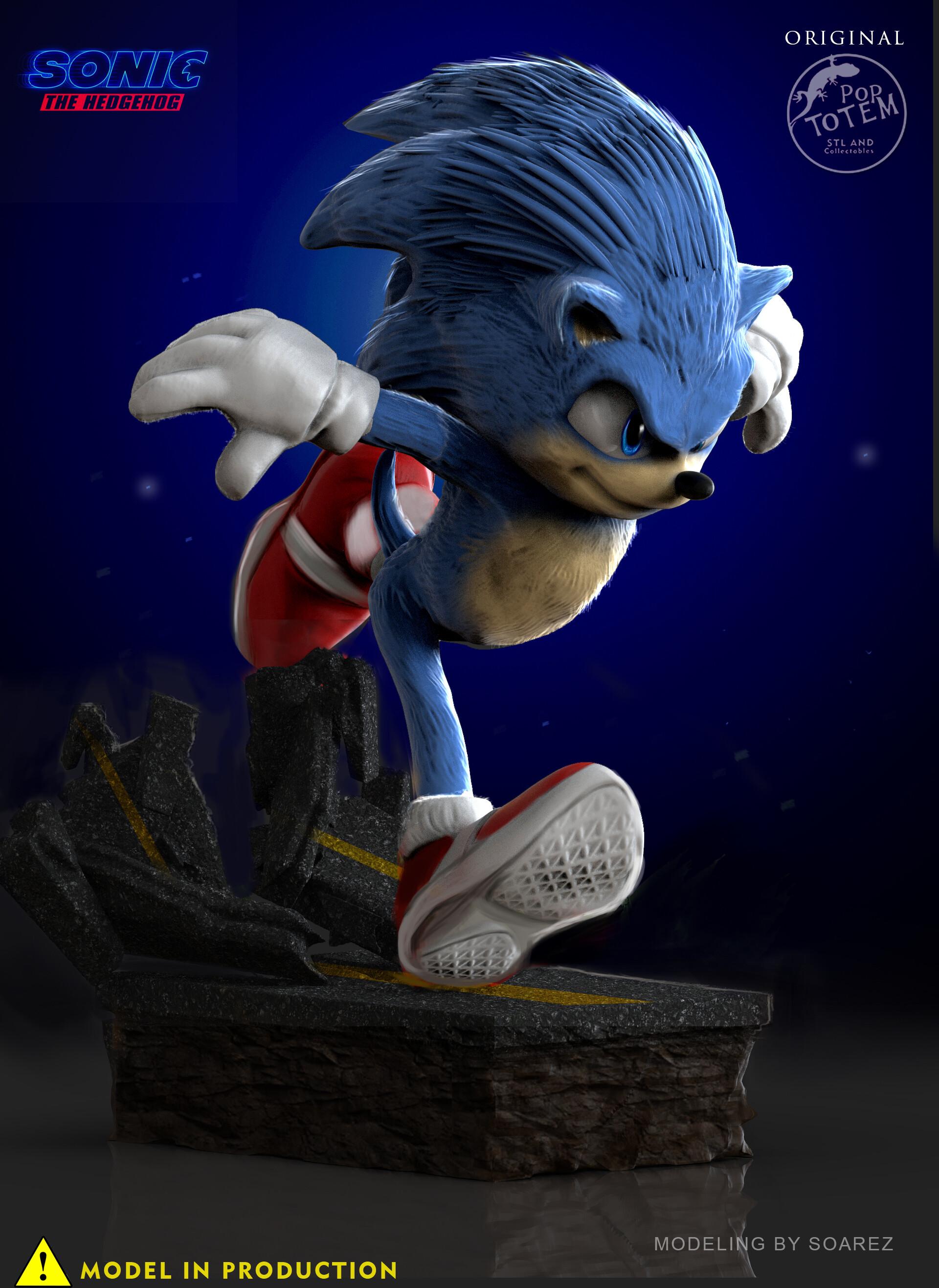 Artstation Sonic The Hedgehog Soarez Aydin