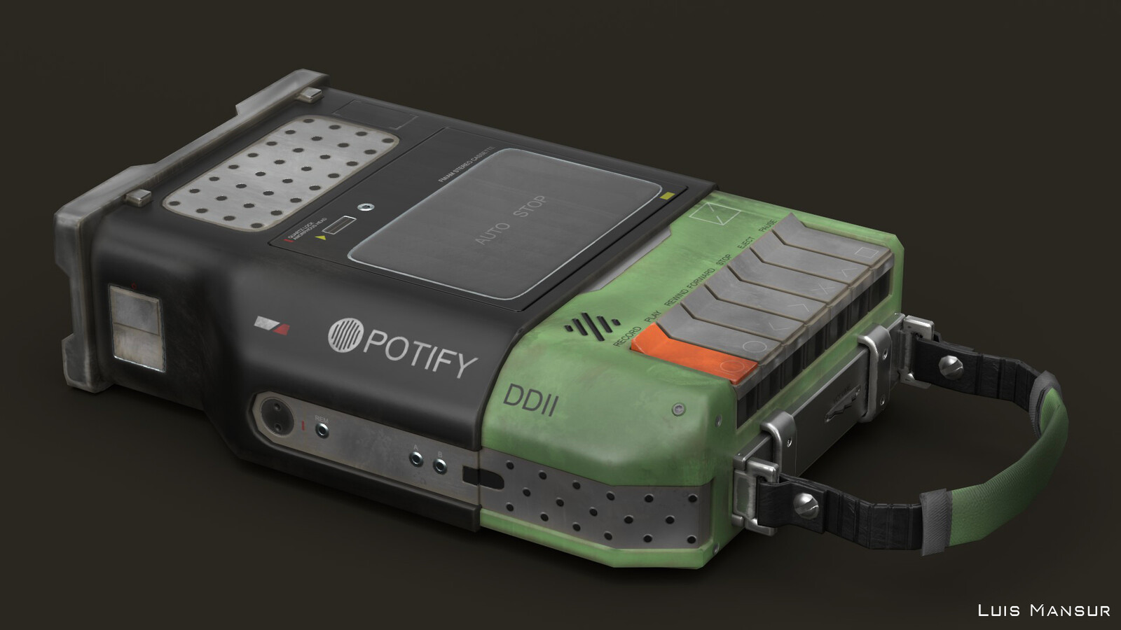 Potify Cassette Player