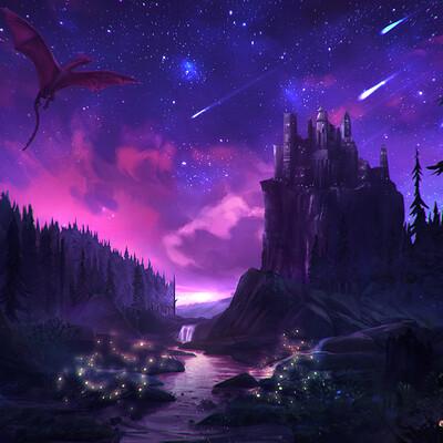 Fabian parente comission castle dragon4final
