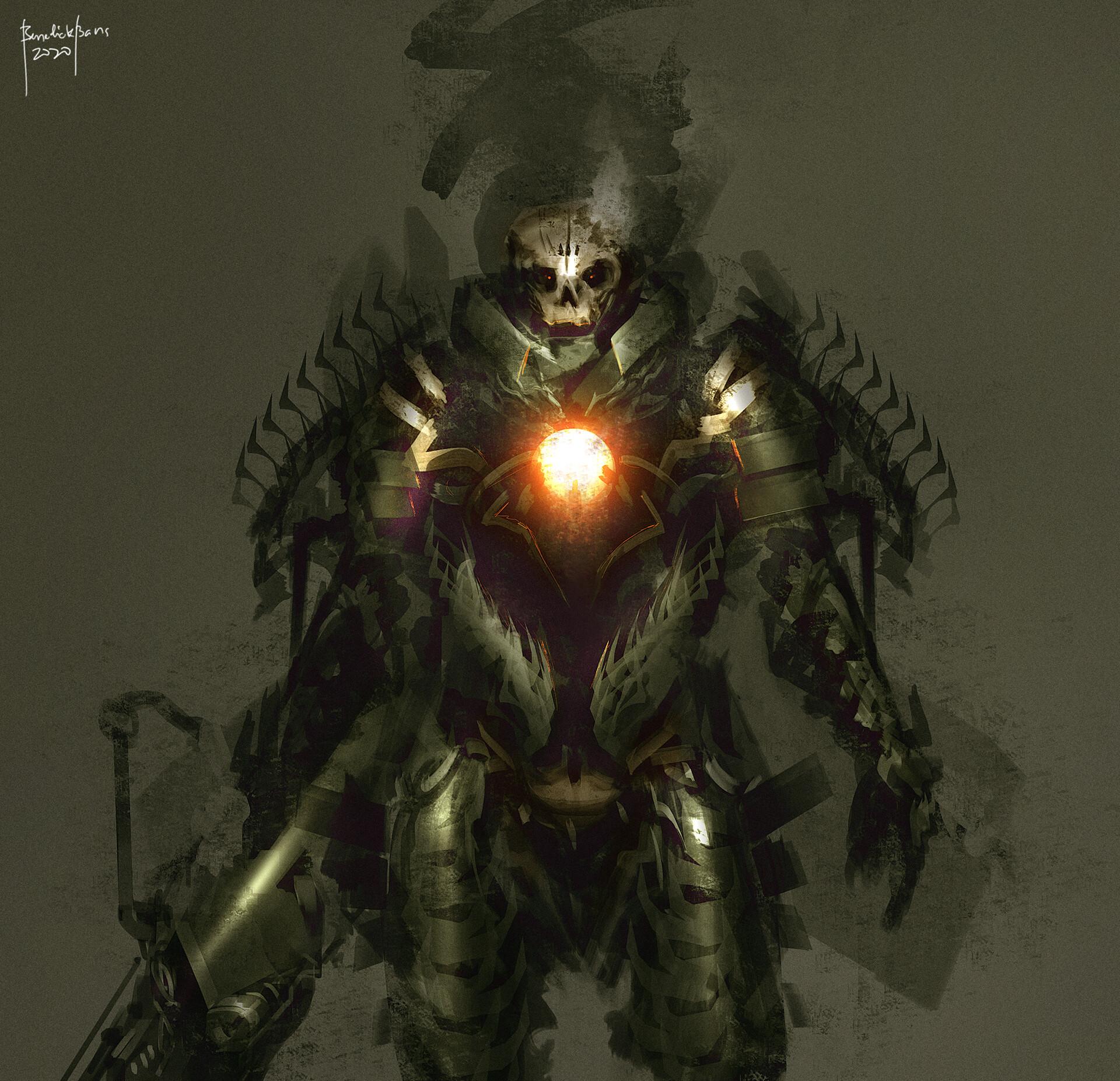 "concept art 2020 - undead warrior ""DEATH"""