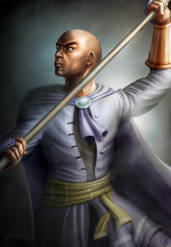 The Staff Knight