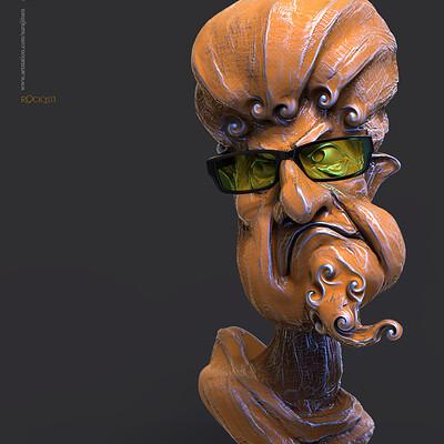 Surajit sen rocky03 digital sculpture surajitsen feb2020s