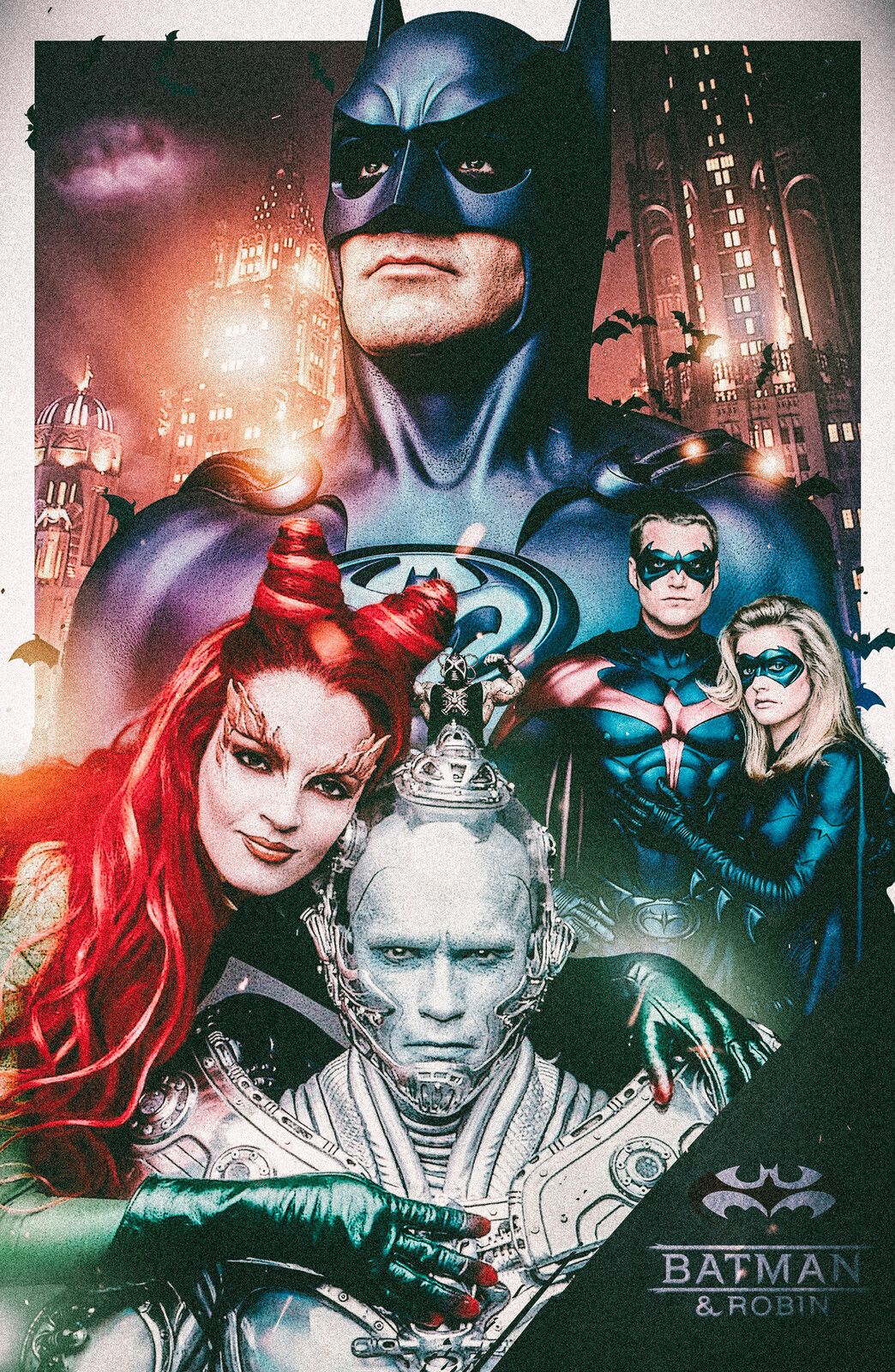 Batman and Robin Alternate Movie Poster by The Movie Poster Guy, Neemz