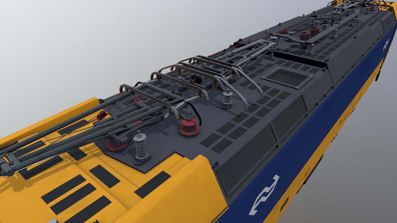 Marmoset Toolbag render of the Traxx 186