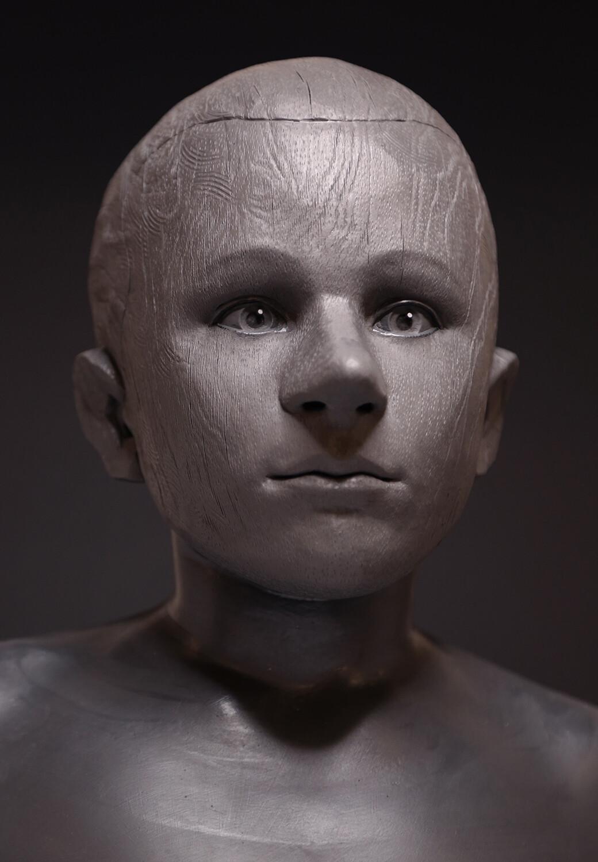 Pinocchio 2019 / Pinocchio (final) Prosthetic Sculpture on Frederico Ielapi