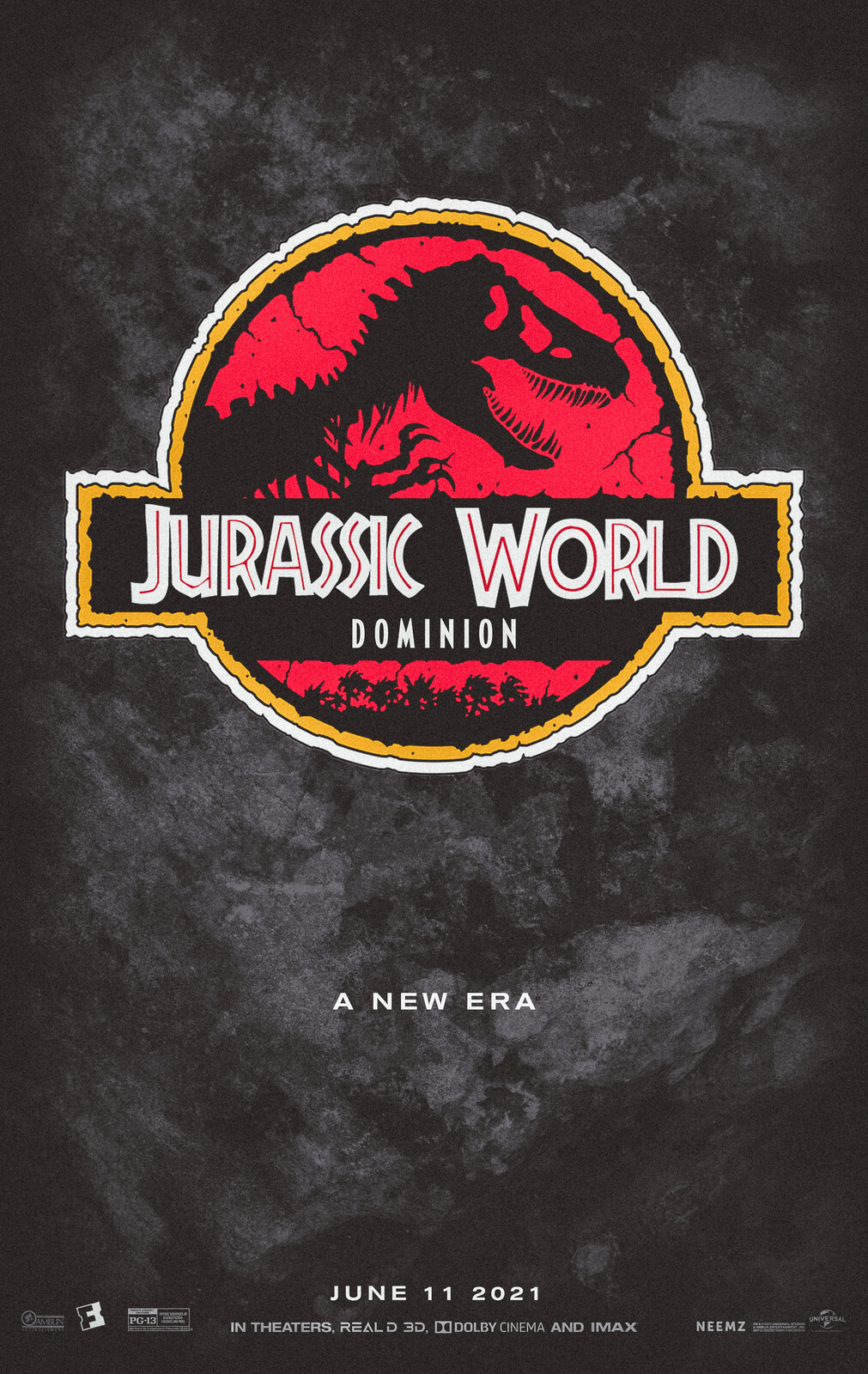 Jurassic World Dominion Movie Poster - Classic Look