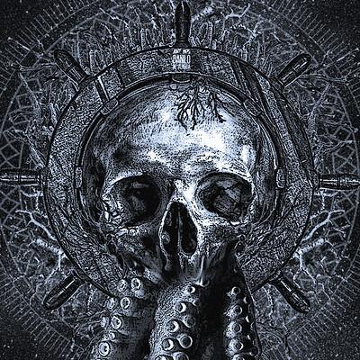 Danilo de almeida skull tentacles of sea