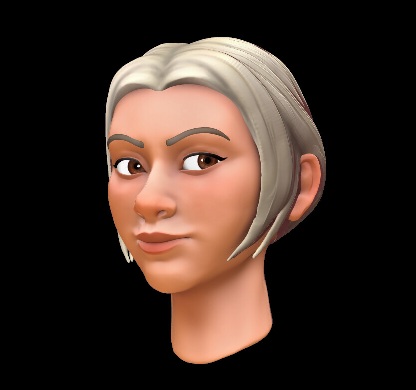 updated it a lil bit as well as changed the hair to match my current hairstyle