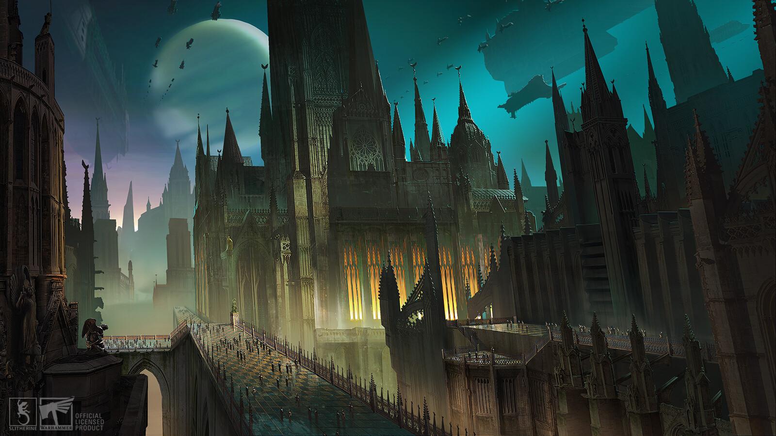 Warhammer 40k Gladius Imperial City