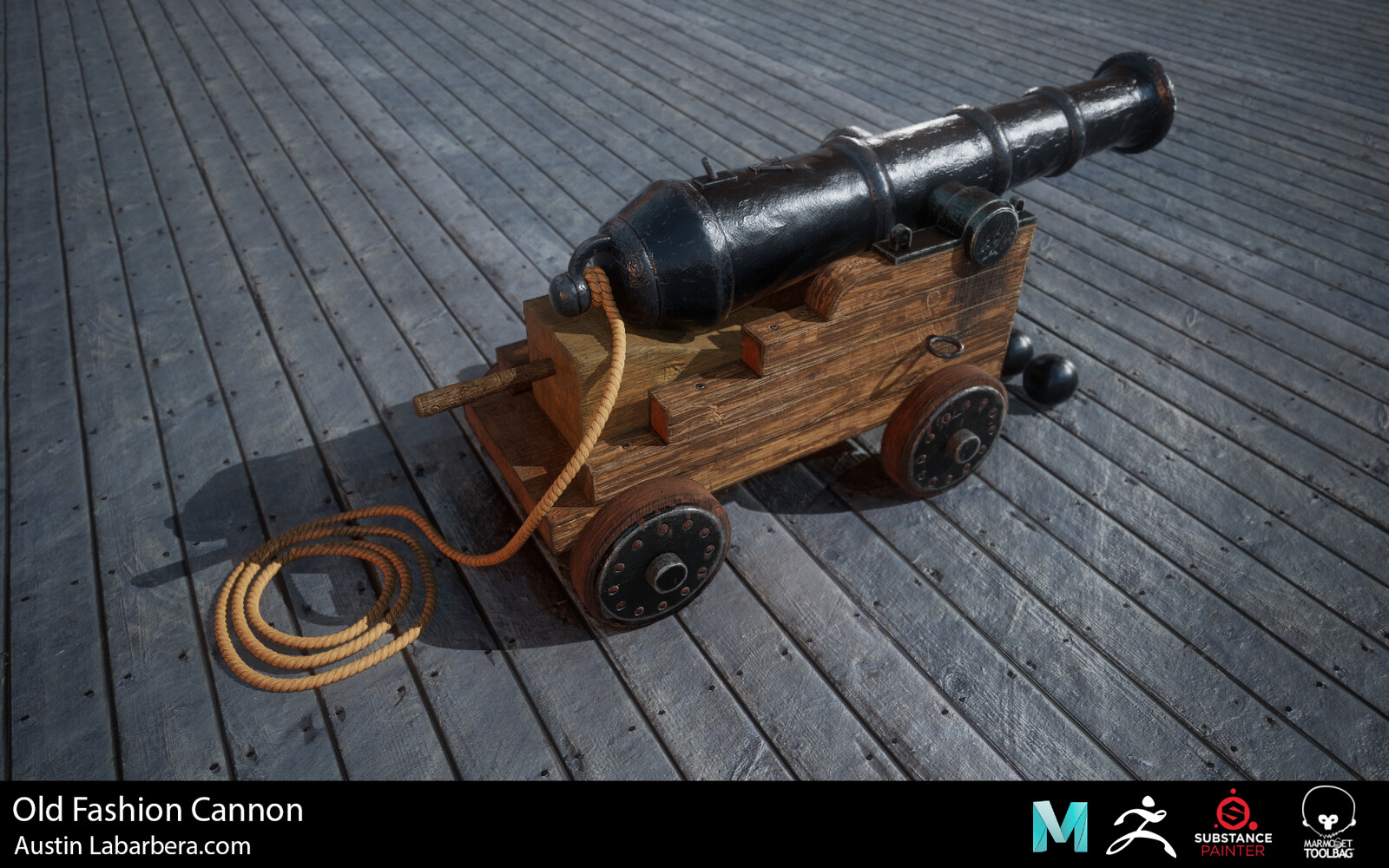 Old-Fashioned Cannon