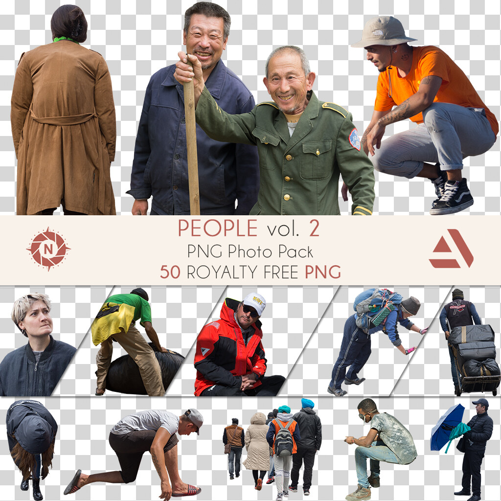 PNG Photo Pack: People volume 2  https://www.artstation.com/a/165908
