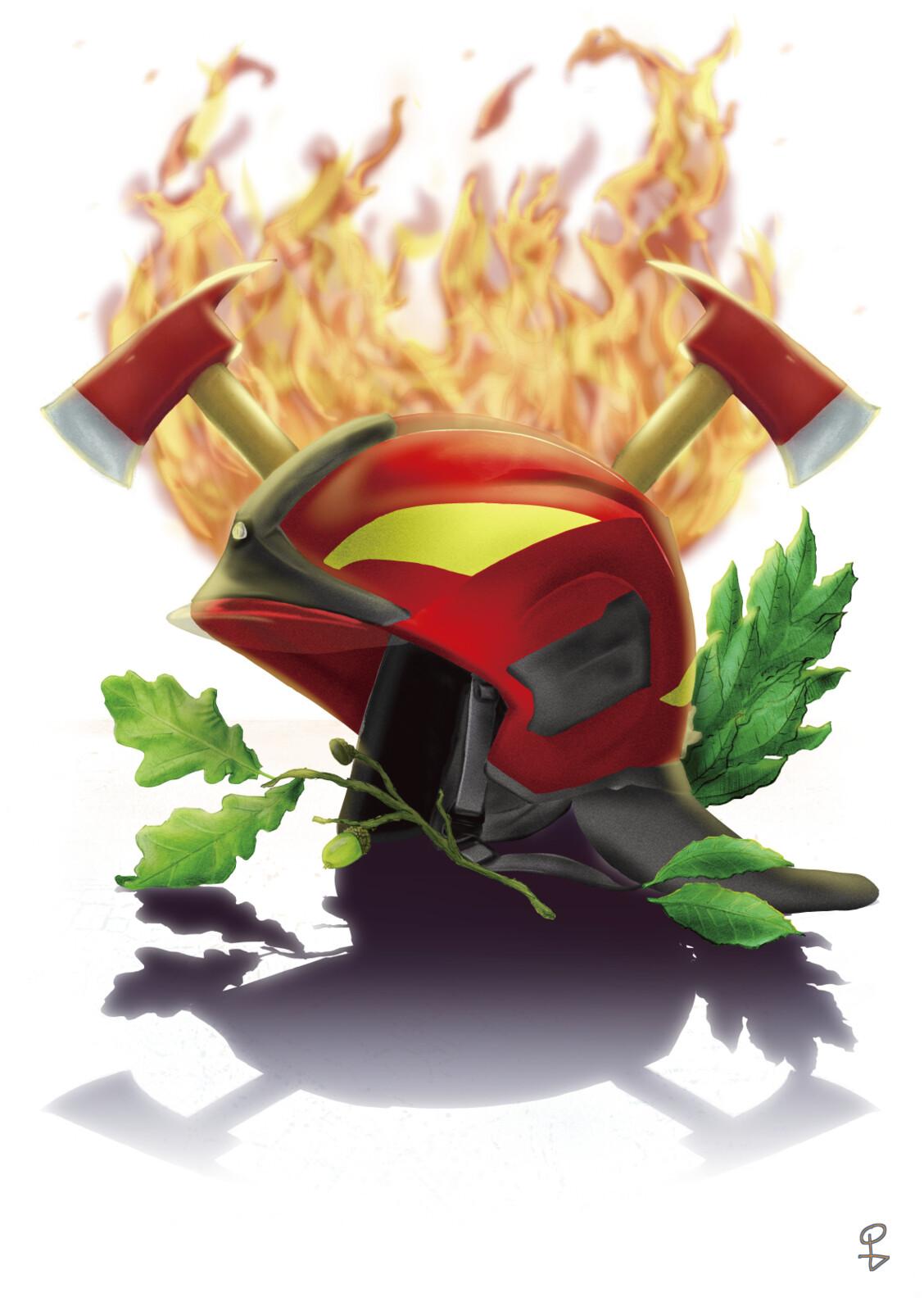 Firefighter's Logo Redesigned