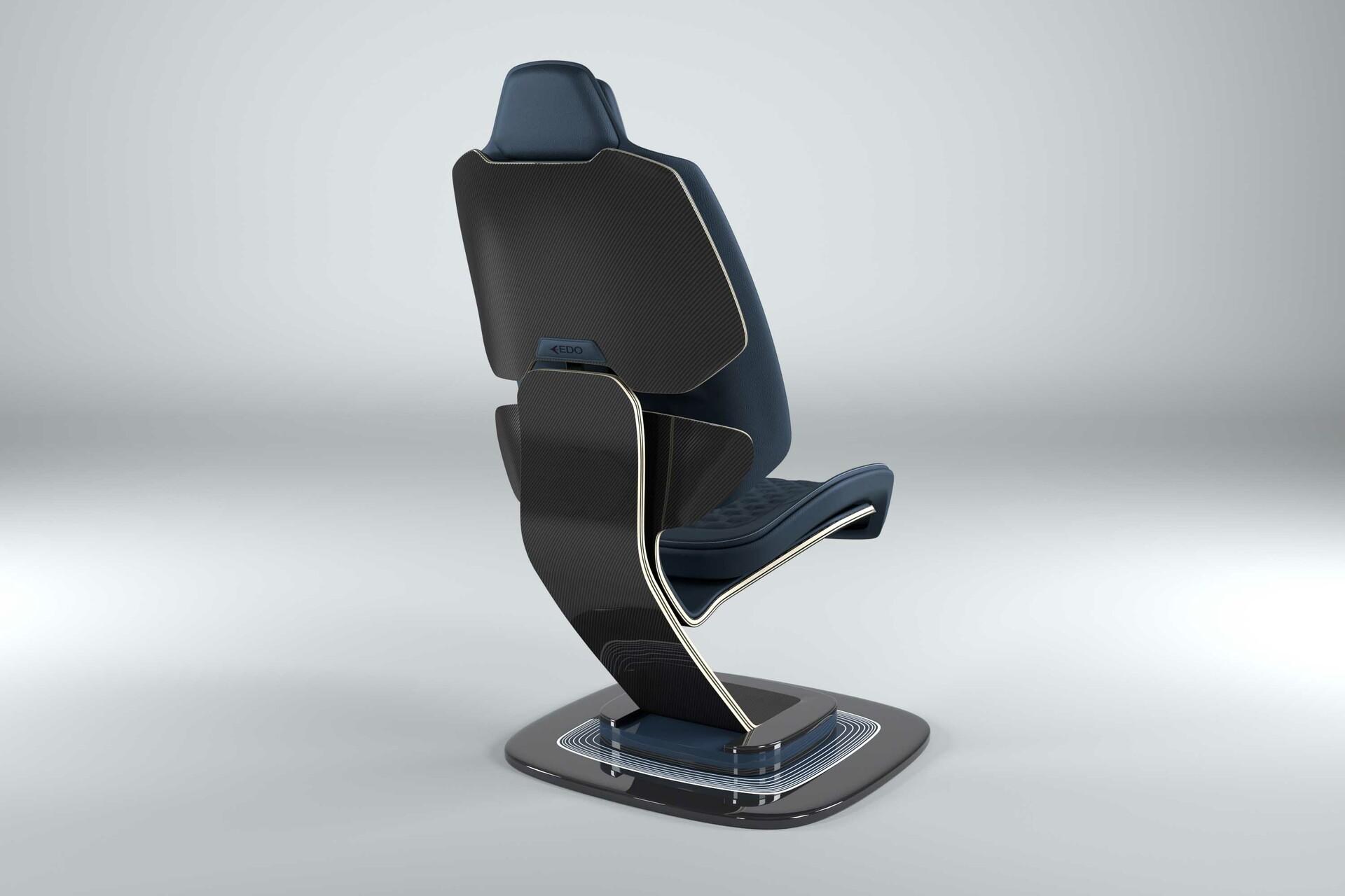 Studio Rendering of Chair