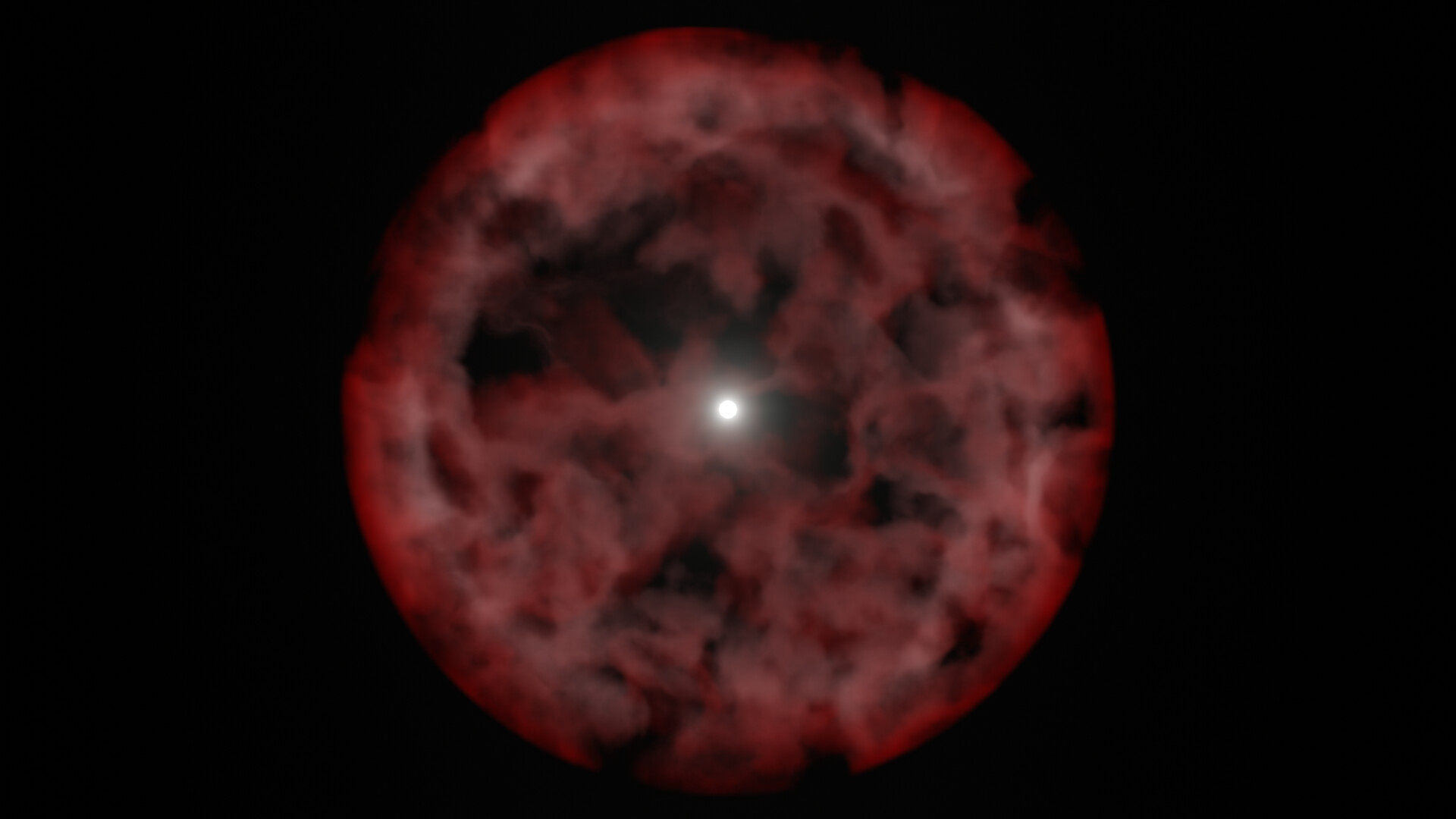 So it begins...Looks like a hubble image it's so fuzzy, so I bumped up the sampling