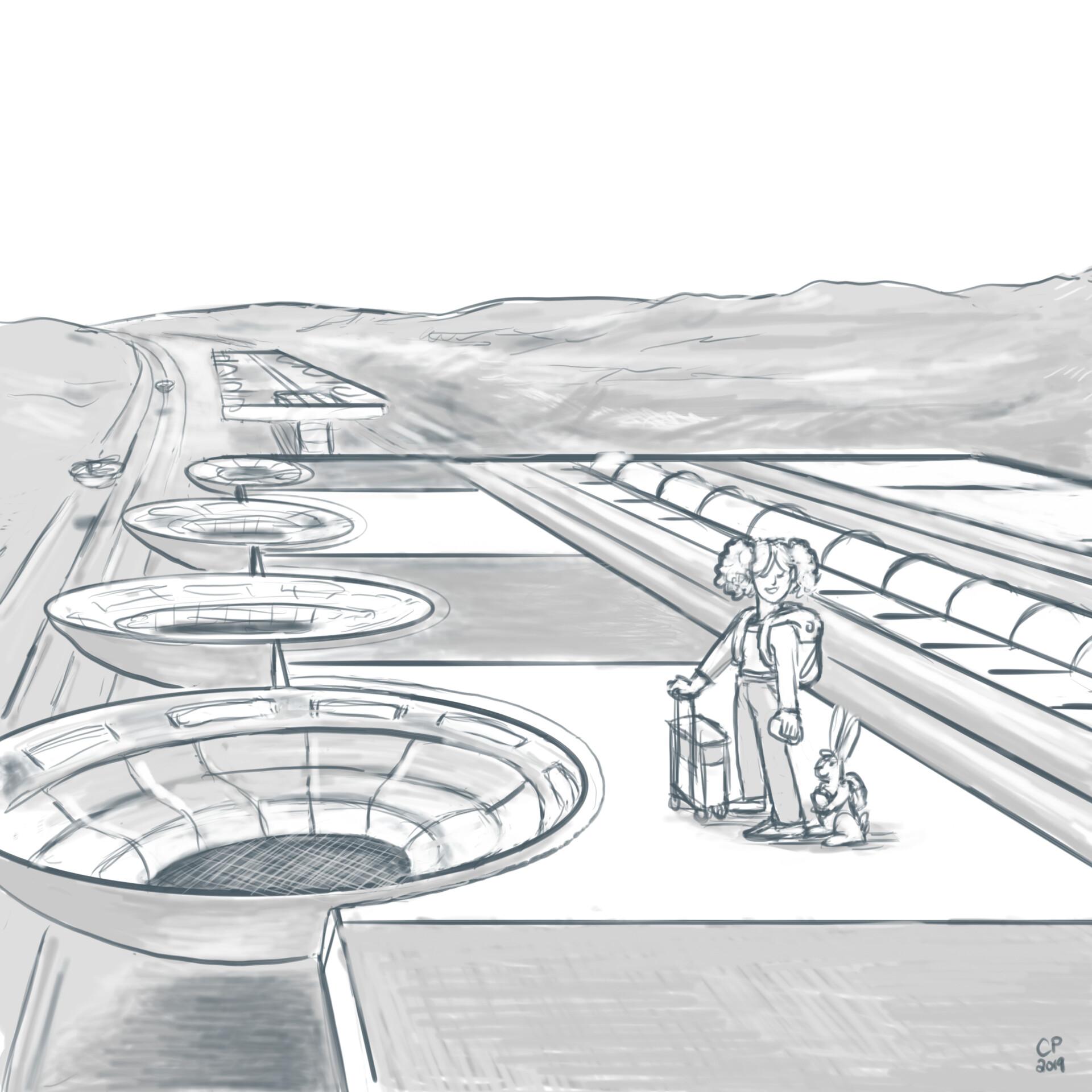 20 Station Platform