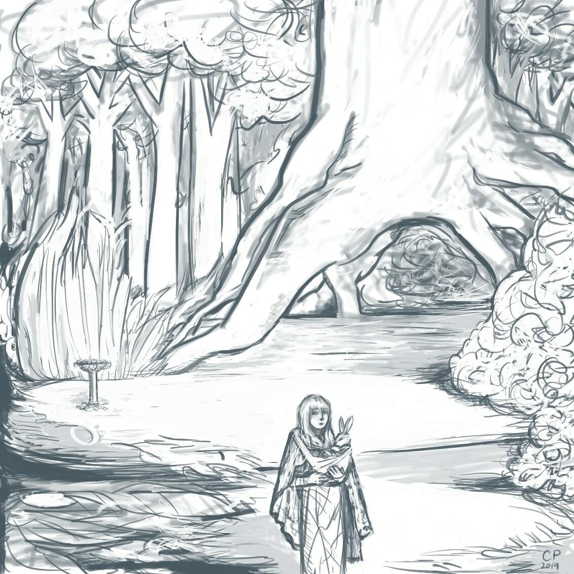 3 deep Forest Shrine
