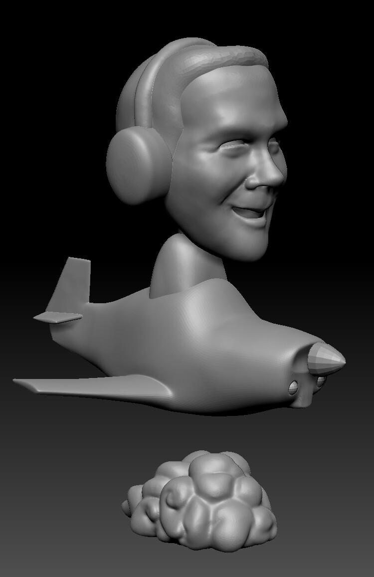 Final ZBrush Sculpt.