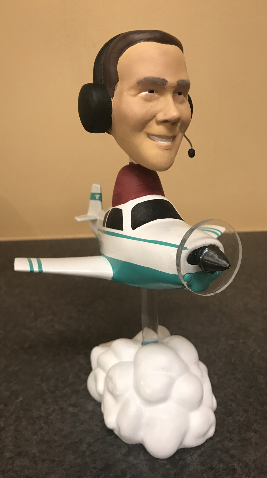 Chance with Mooney Bobblehead