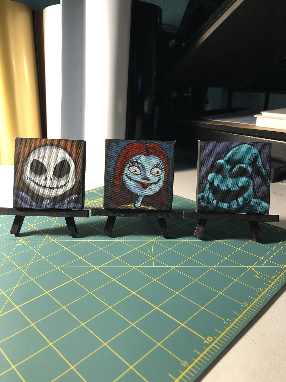 Nightmare Before Christmas, Jack, Sally and Oogie Boogie