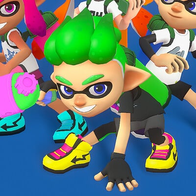 Whitney lanier splatoon win pose ps
