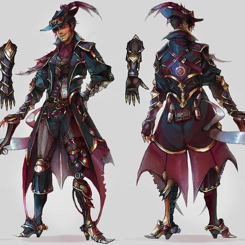 Dragon Rider Wren