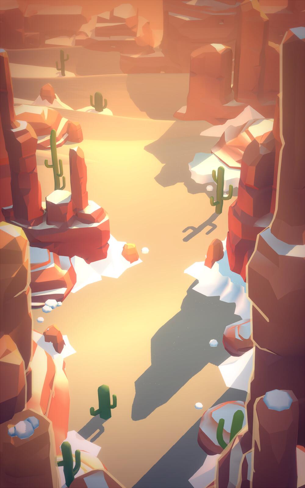 Tales of Memo: Desert