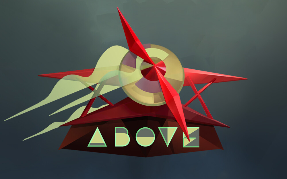 Logo in the style of futurism/deco