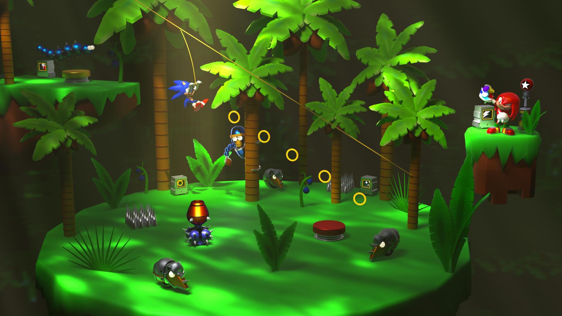 Caelum Beckinsale Sonic The Hedgehog 3 Angel Island Zone Diorama And Badniks