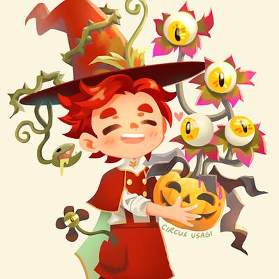 Jia ying ong succulent wizard halloween