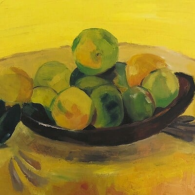 Oil Painting - Imitation of Paul Gauguin Artwork