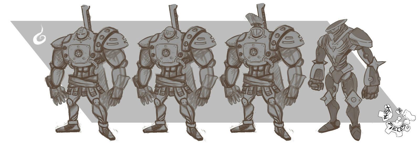 Warrior Sketches