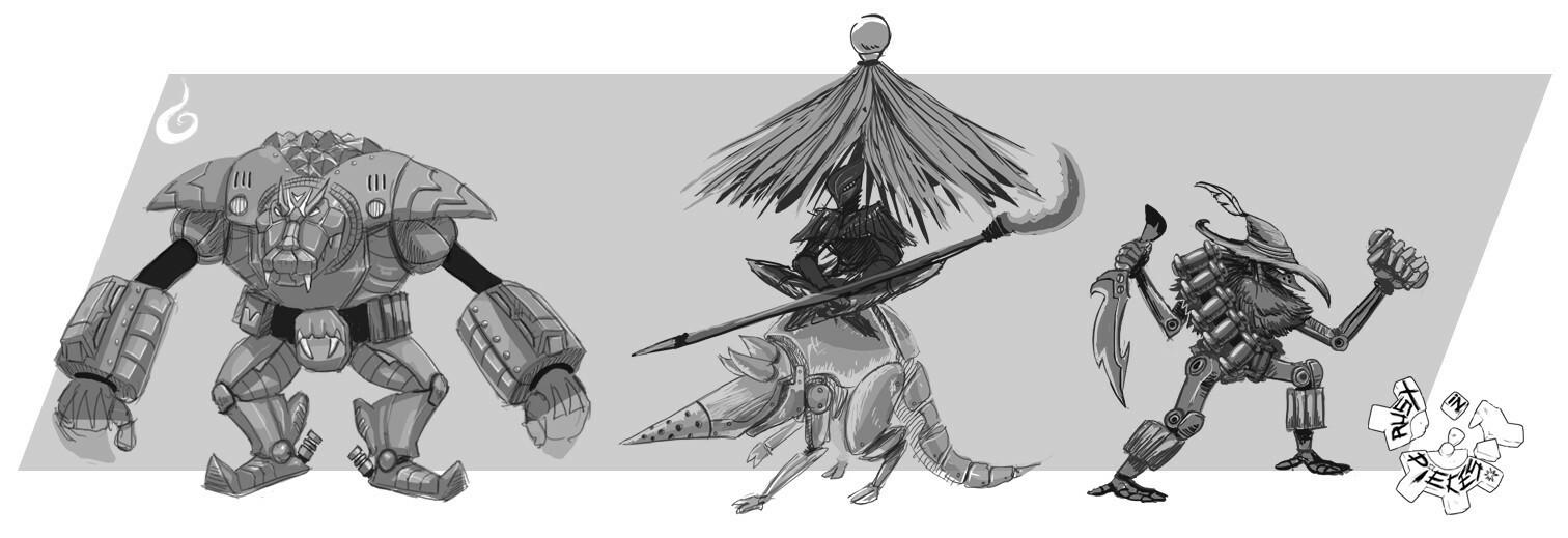 Poacher Sketches