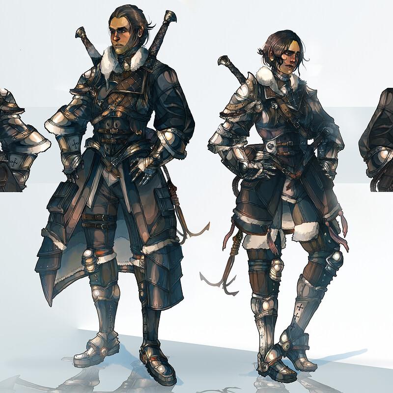 Beyond The Falls: Winter Wanderer Gear (Design Process below)