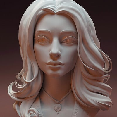 Yennefer stylized sculpt