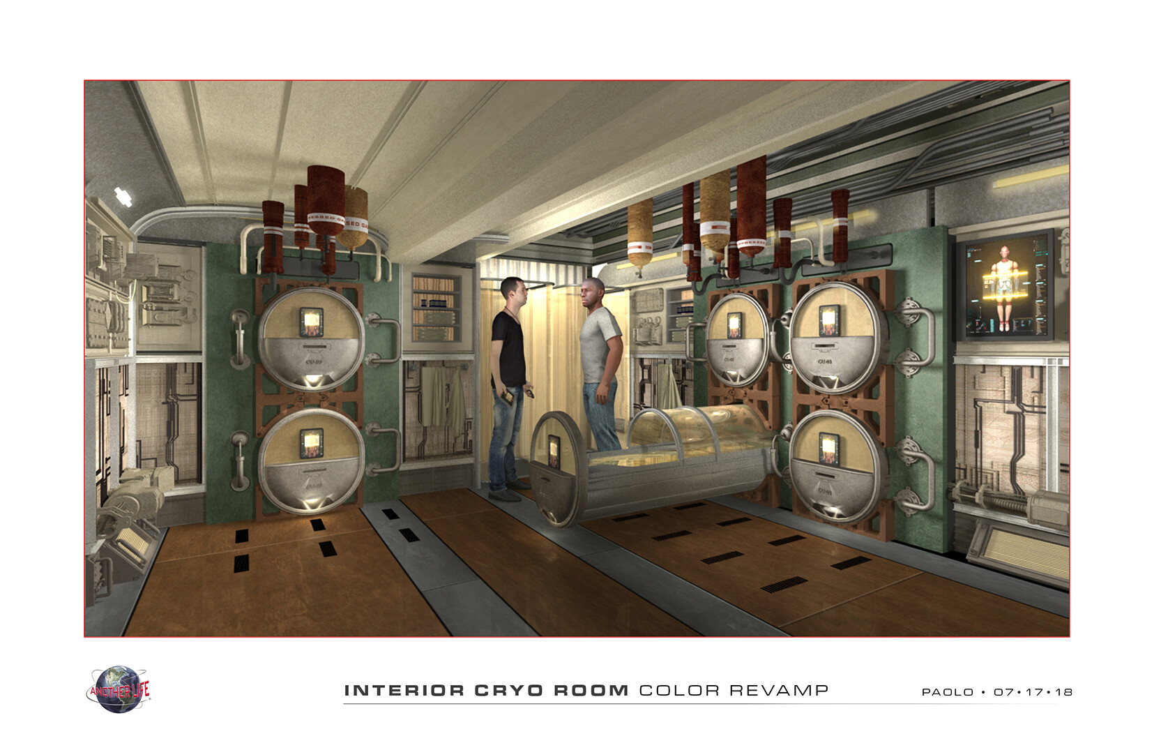 Interior Cryo Room / Another Life
