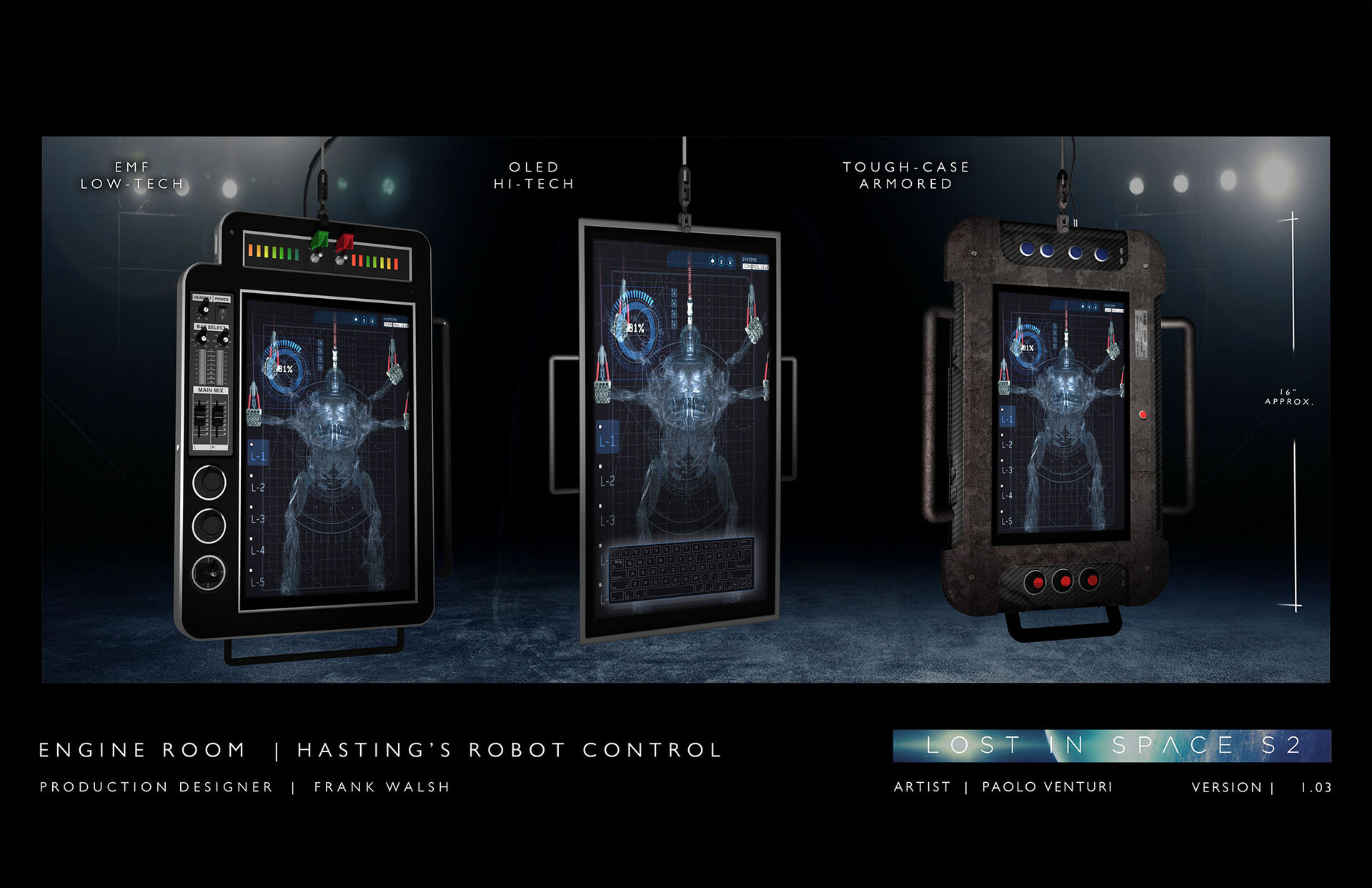 Robot Screens / Lost in Space Season 2