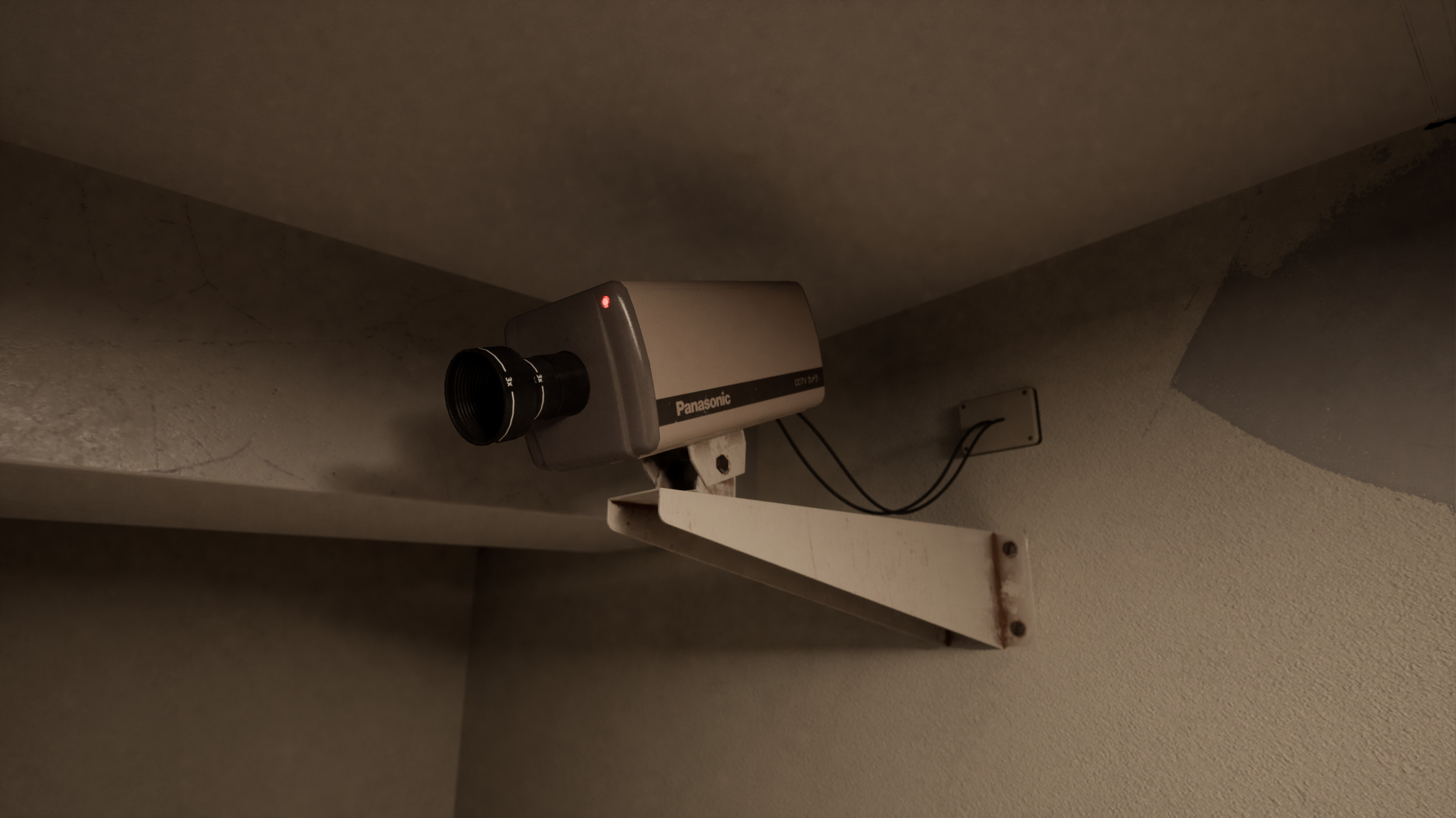 Security Camera based on an old Panasonic CCTV camera