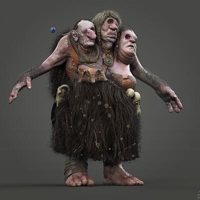 -Troll concept sculpt-