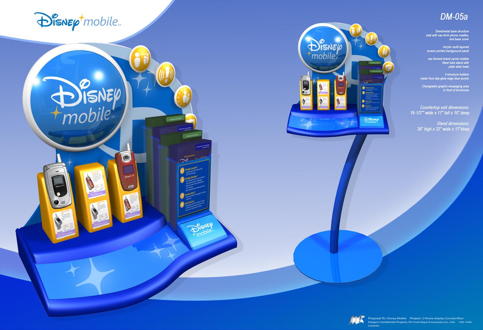 Disney Mobile Retail Program