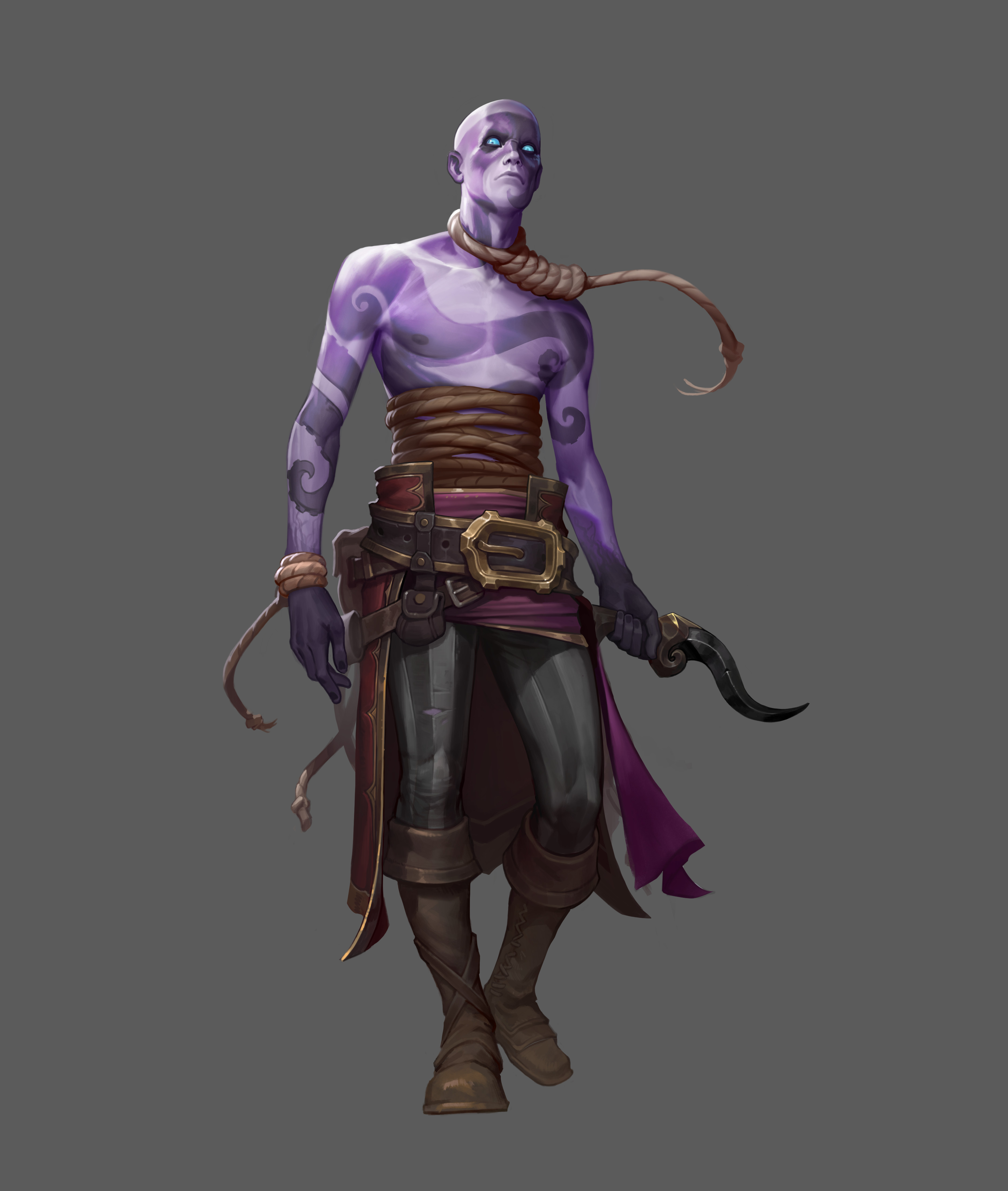 D&d style character