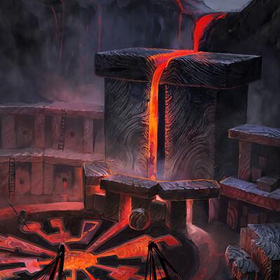 Attila gerenyi lava forge upwork highres