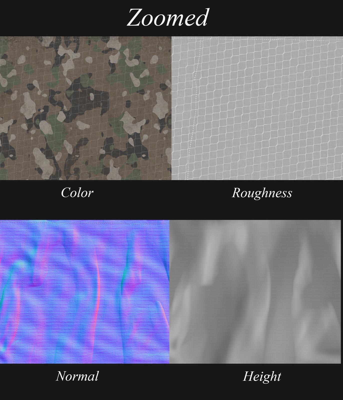 Shirt textures