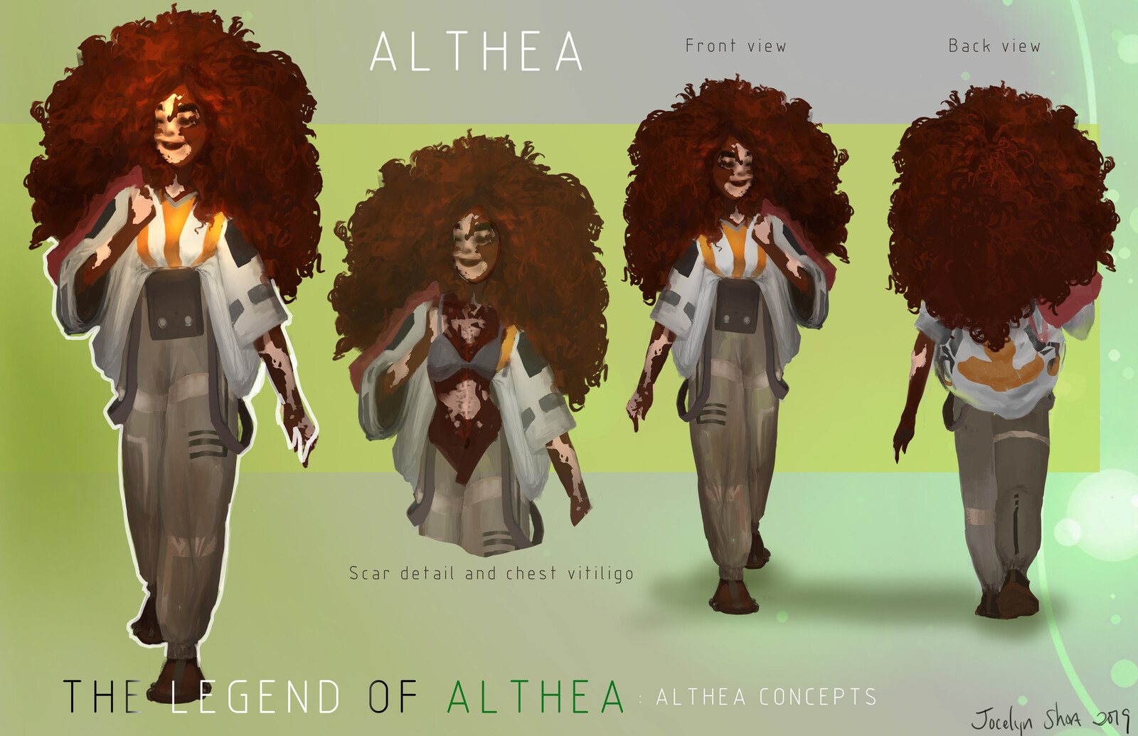 The Legend of Althea: Althea (Commissioned Work)