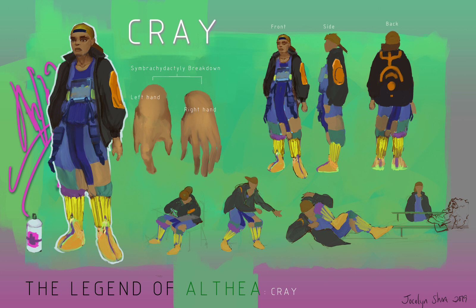 The Legend of Althea: Cray (Commissioned Work)