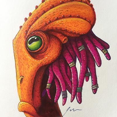 Julian weiler orange octo guy