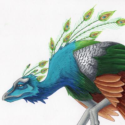Julian weiler peacock dragon