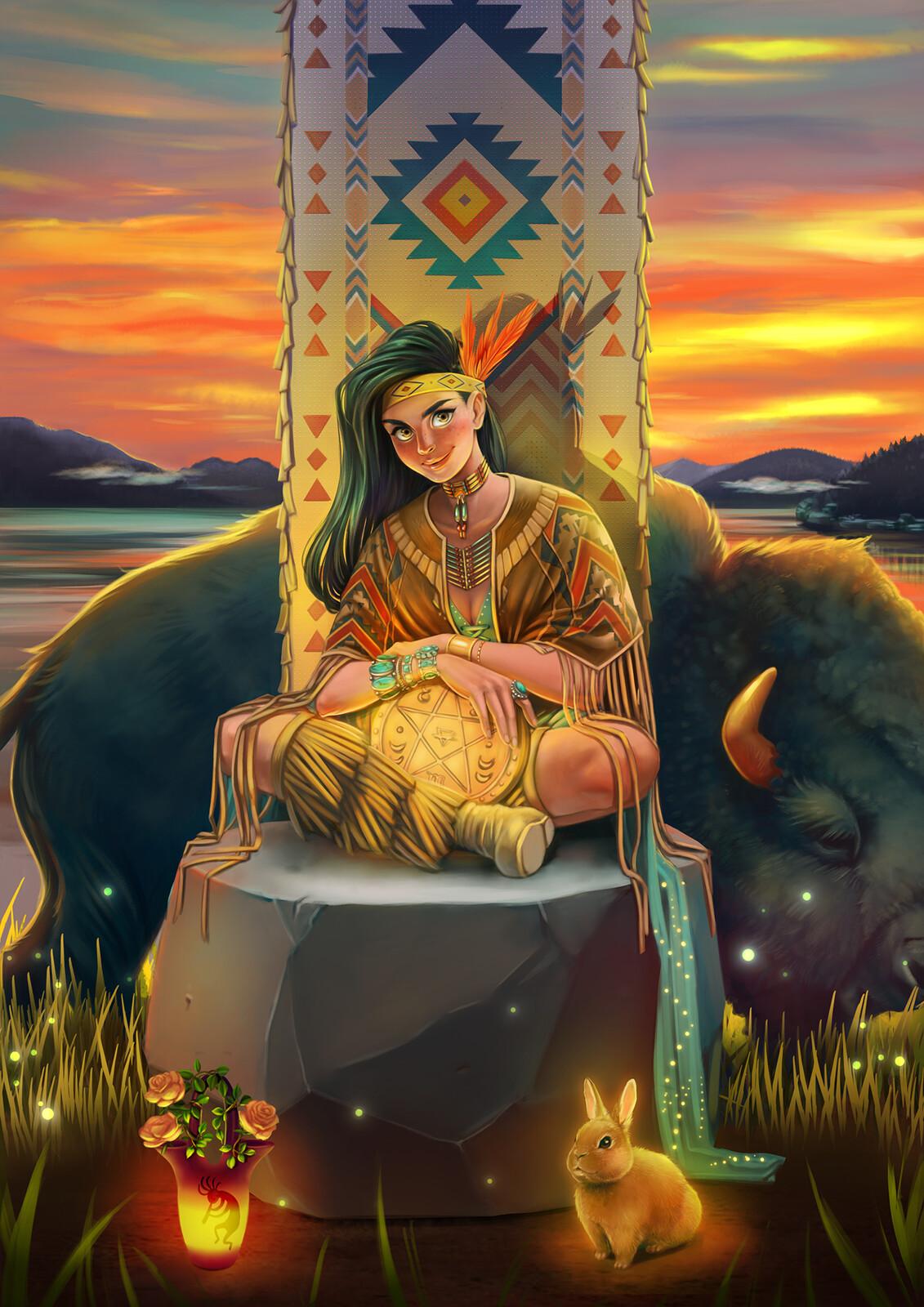 Tarot Project: Queen of Pentacles